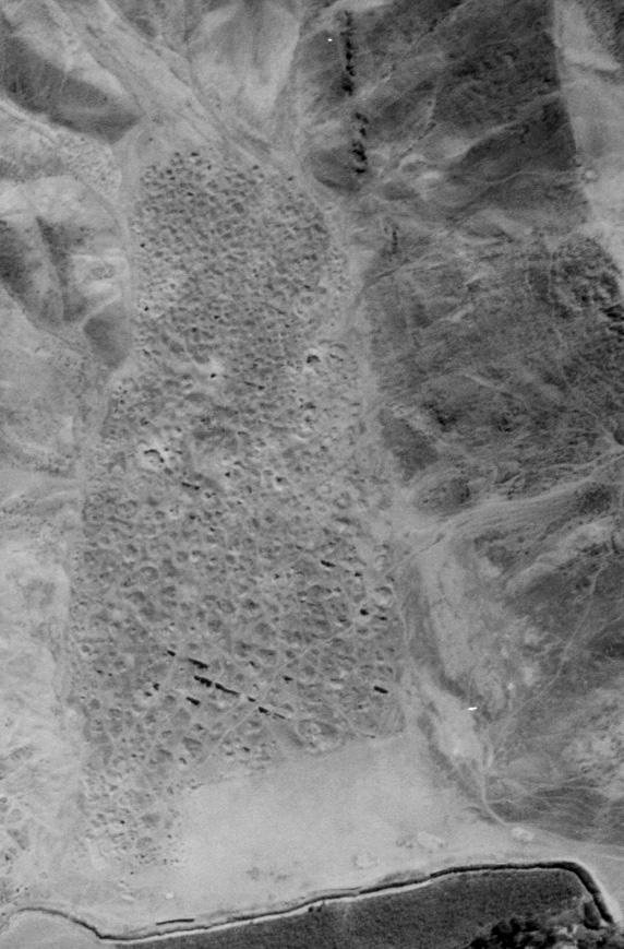 Site archéologique de Sacachispa en 1945 - Photo : Sacachispa: un cementerio de agricultores de la cultura Chancay en Huando, Huaral - Peter Van Dalen Luna